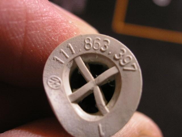 111863397, Bungs Volkswagen genuine OEM part