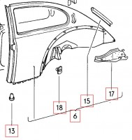 111863397 VAG (VW) genuine OEM part